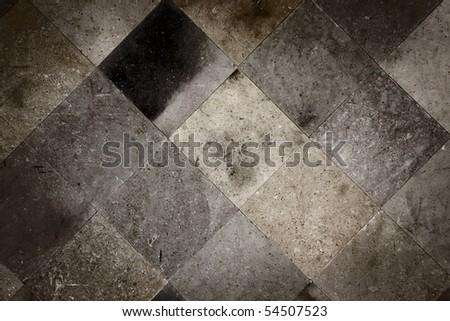 Ceramic tile floor or wall texture