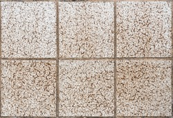 Ceramic tile floor or wall texture image. Tileable photo of ceramic square tiles