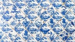 ceramic tile nature and flowers pattern from chines style