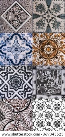 Ceramic Tile Texture Design Wall Bathroom Indoor Outdoor Handcraft