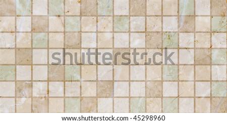 Ceramic tiles beige mosaic
