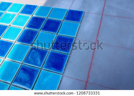 Ceramic tiles for the installation of tiles in the workplace, wall fixing, home repair #1208733331