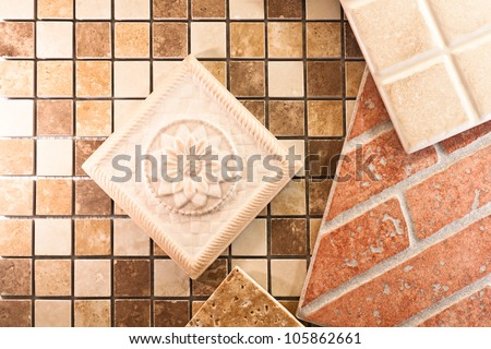 Ceramic tiles for walls and floors