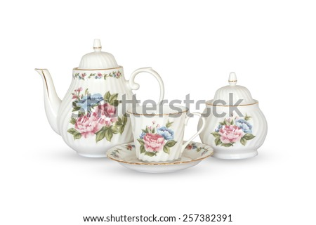 ceramic vintage tea pot...