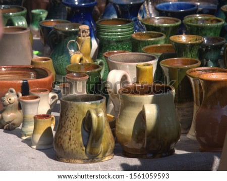 ceramic ware on the table #1561059593
