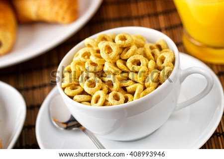 Cereal with milk #408993946