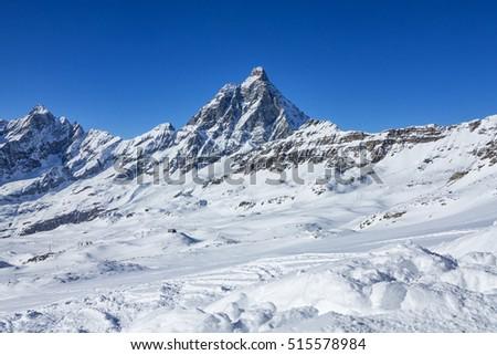 Cervinia ( Italy ) ski slopes #515578984