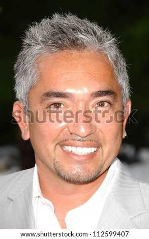 "Cesar Millan at the ""Bow Wow Wow"" Celebrity Fundraiser For Much Love Animal Rescue. Playboy Mansion, Los Angeles, CA. 07-14-07"