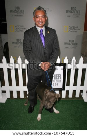Cesar Millan  at the party to celebrate the 100th Episode of 'Dog Whisperer'. Boulevard 3, Hollywood, CA. 09-17-08
