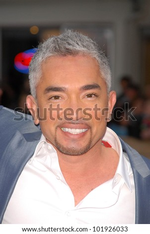 "Cesar Millan at the Premiere of CBS Films' ""The Back-up Plan,"" Regency Village Theater, Westwood, CA. 04-21-10"
