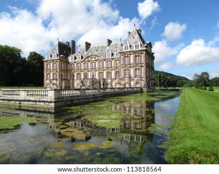 Ch�¢teau de Cany (Normandie, France)