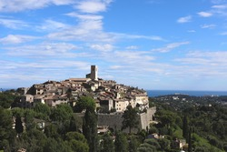 Chagall, Matisse, Picasso, Yves Montang and other artists and celebrities stayed in the village on the warmest hill in southern France.