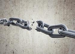 Chain breaking.