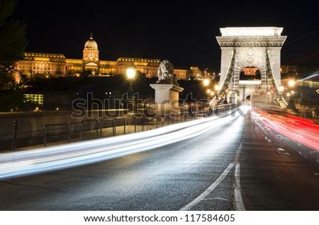 Chain Bridge & Castle, Budapest