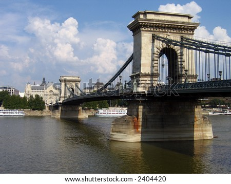 Chain Bridge of Budapest, Hungary