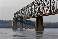 Chain of Rock Bridge St. Louis