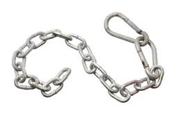 Chain on White Background