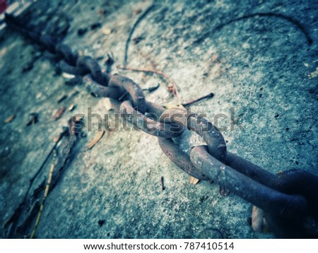Chain through rust have long used most of the time. The chain is needed in interpreting things, live with that loss, or who do not have a key of the thing could not be removed. #787410514