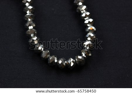 Chain with shiny beads #65758450