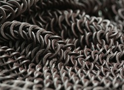 chains. abstract metal background.