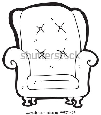 Chair Cartoon Drawing Chair Cartoon
