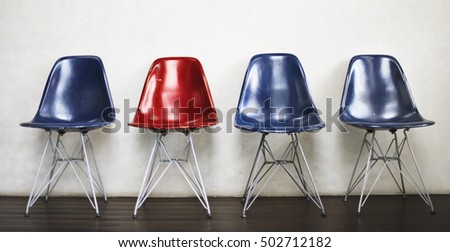 Chair Furniture Indoor Space Urban Vacant Concept #502712182