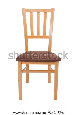 chair isolated on white