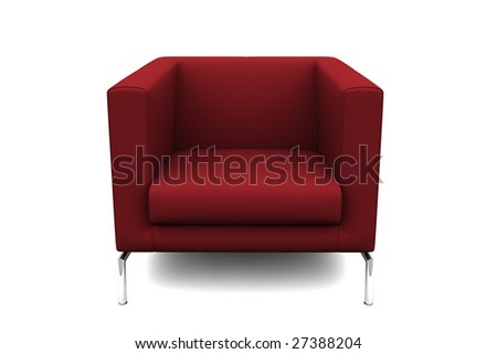 Chair Isolated On White Background