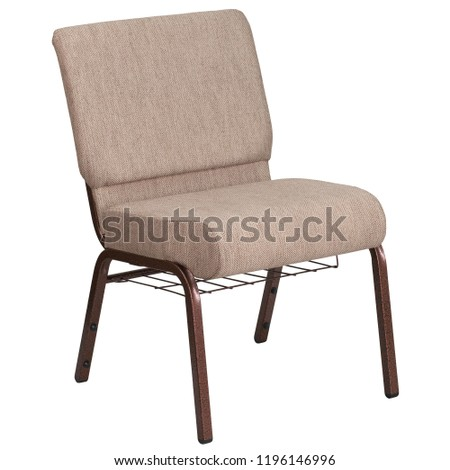 Chair isolated on white background. Series of furniture, Armchair, furniture for different spaces  #1196146996