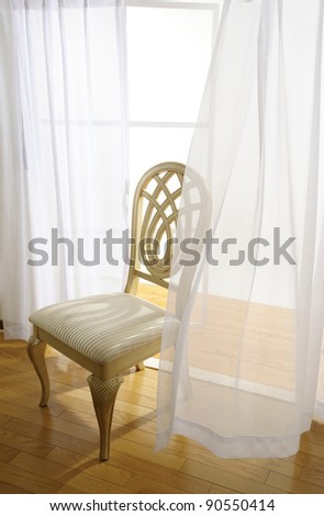 chair near the window