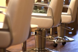 Chair Of Beauty Salon