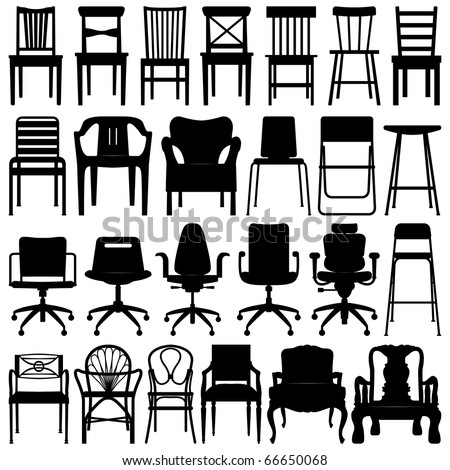 Chair Set Black