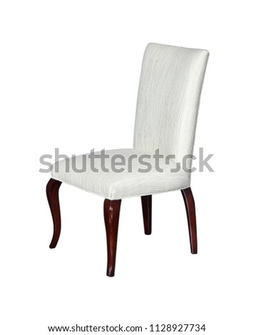 Chair single chair back chair white chair #1128927734
