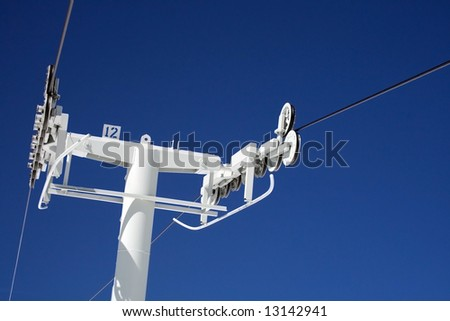 Chairlift Pole