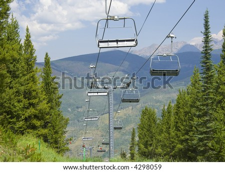 Chairlift Vail Colorado