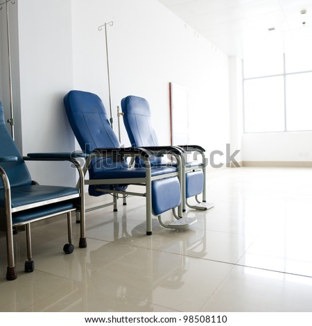 chairs in a medical room