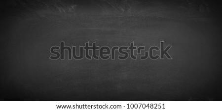 chalk board background, texture of an empty blackboard