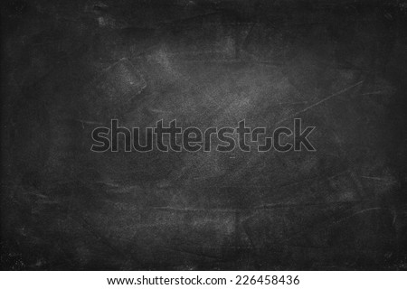 Chalk rubbed out on blackboard - Shutterstock ID 226458436
