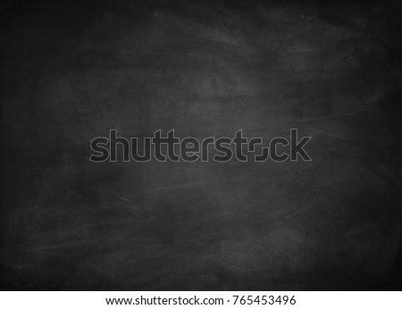 Chalk rubbed out on blackboard - Shutterstock ID 765453496