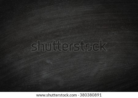 Chalk rubbed out on blackboard texture