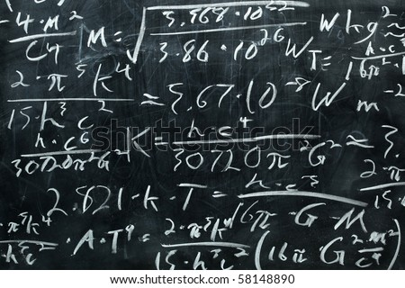 Chalkboard - stock photo