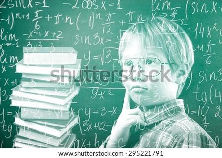 Chalkboard, boy, child.