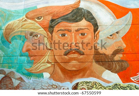 Chamizal National Memorial historic mural
