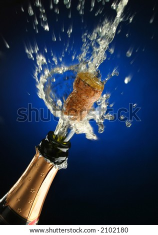 Champagne Eruption