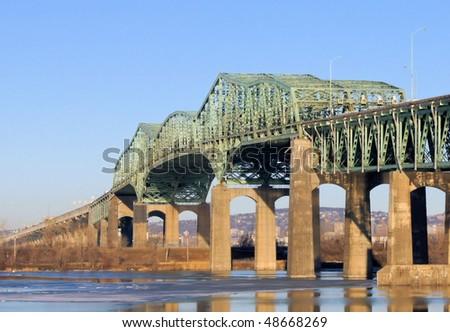 Champlain Bridge of Montreal Quebec #2