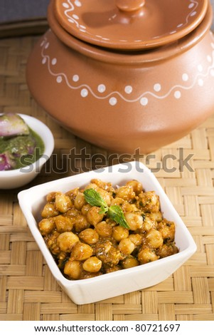 Chana masala, Indian Dish