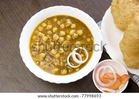 chana with puri