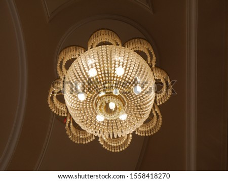 Chandelier. Elegant chandelier. Luxury chandelier Luxury chandelier