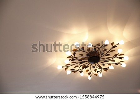 Chandelier Photo, Home decorative piece #1558844975