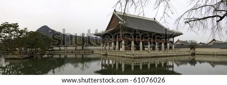 Changdeokgung Palace - Geunjeongjeon Pavilion Panoramic